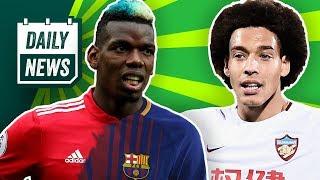 Transfer News: Pogba zum FC Barcelona? Witsel bald offiziell zum BVB, Boateng zu Manchester United?