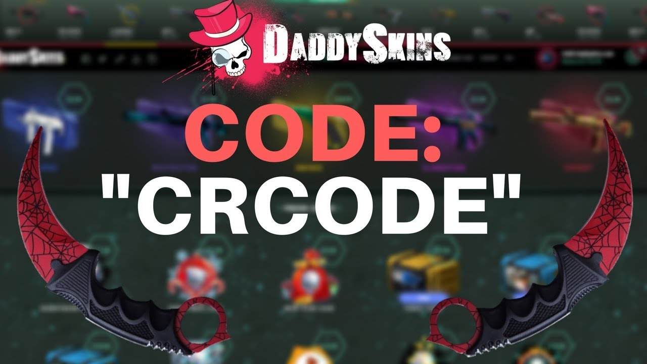 Daddy Skins Promo Code