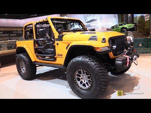 2019 Jeep Wrangler Nacho by Mopar - Exterior Interior Walkaround - 2019 Chicago Auto Show