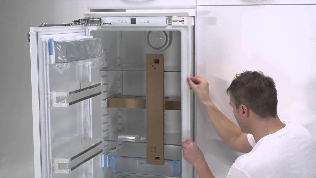 Built In Liebherr Fixed Door Installation Youtube