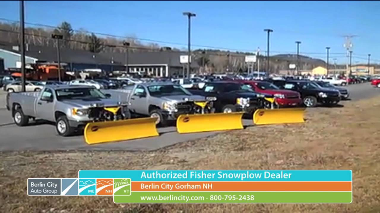 Fisher Plow Dealer In New Hampshire Now At Berlin City Chevrolet - Nh buick dealers