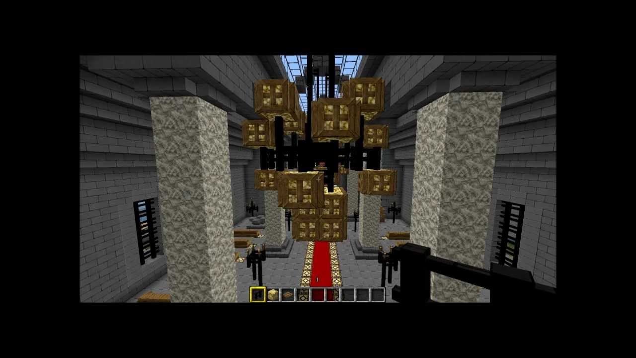 Chandelier 2x2 base minecraft youtube aloadofball