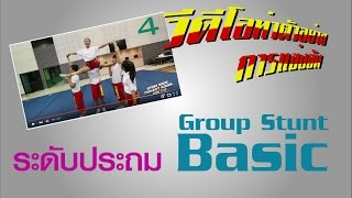 Cheerleading Small Group Basic [Stunt Basic] Age 7 - 12  TNCC 2015