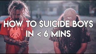 How to $uicideBoy$ in under 6 Minutes | FL Studio Trap and Rap Tutorial