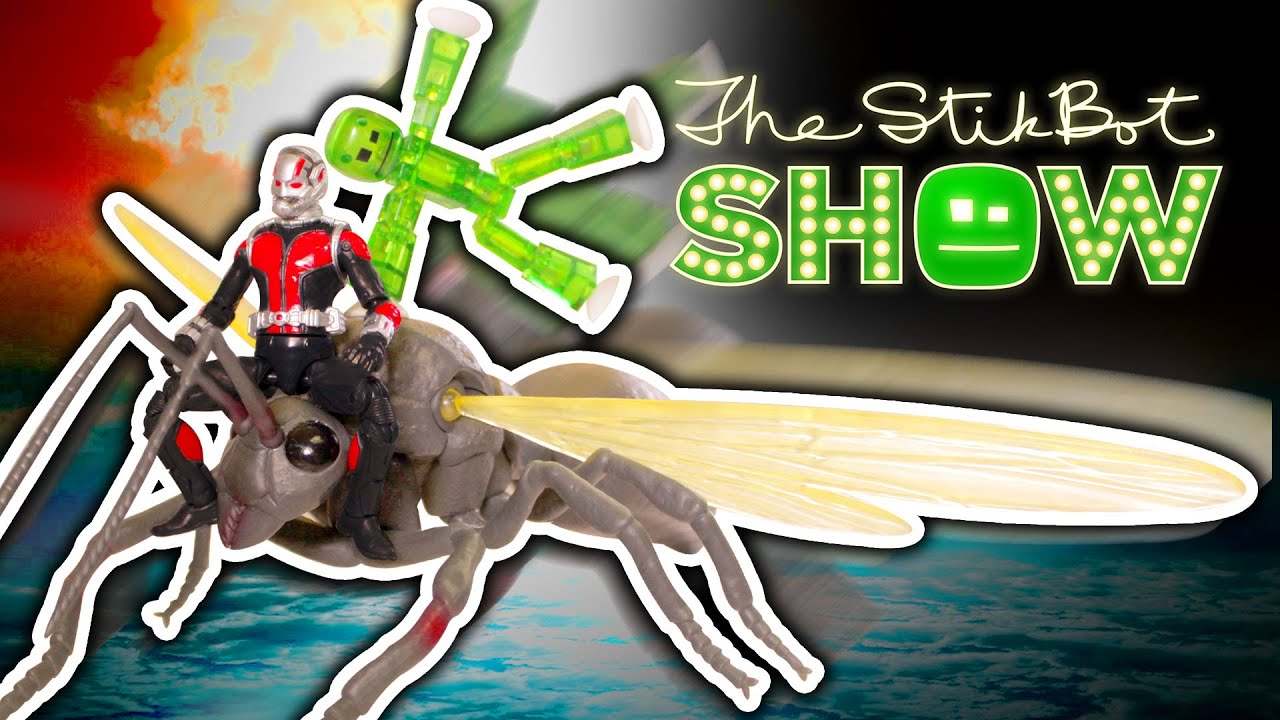 The Stikbot Show The One With Ant Man Youtube