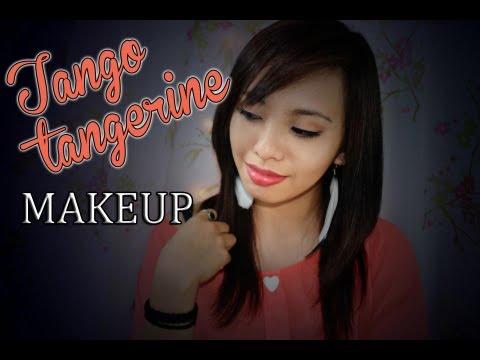 Tango Tangerine Makeup collab with BingprojectAwsome