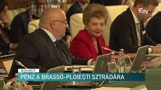 Pénz a Brassó-Ploiești sztrádára – Erdélyi Magyar Televízió