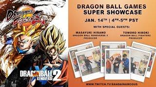 DRAGON BALL Games SUPER Showcase | PS4, PC, Switch, X1