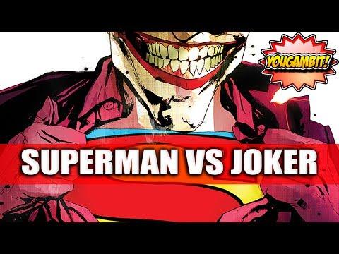 VIDEOCOMIC: SUPERMAN VS JOKER || Joker...