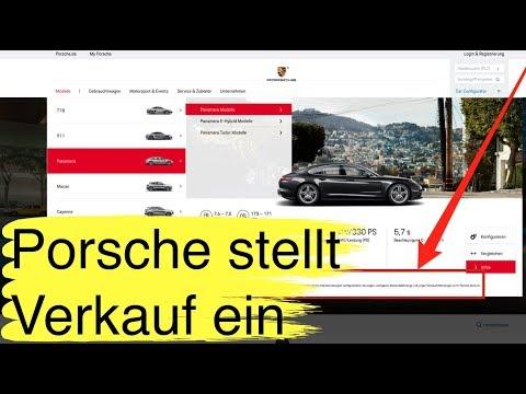 KW22-2 Porsche: Verkaufsstopp für Europa. Keine neuen Cayenne und Panamera mehr, 911 ungewiss