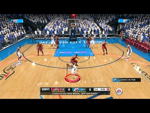 NBA Live 15 - Part 1 - Welcome! (Playstation 4 Gameplay)
