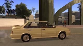 Скачать Ваз 2115 сток для GTA San Andreas