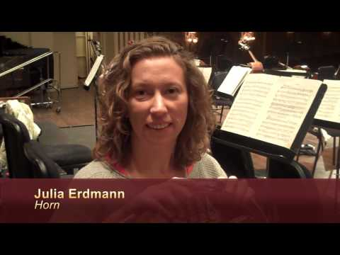SLSO Video Blog - April 21, 2010 Rehearsal for Brahms Serenade No. 2