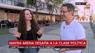 ¿Qué tienen los pobres en la cabeza? Nota con Mayra Arena - ADN - C5N - Tomás Méndez