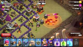 Clash of Clans: Gowipe Angriff Strategie clanwar