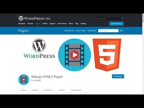 Videojs HTML5 Player – WordPress plugin | WordPress org