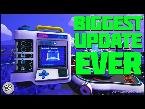 Astroneer BIGGEST Update EVER! Research 2.0 ! Lets Play Astroneer Gameplay   Z1 Gaming