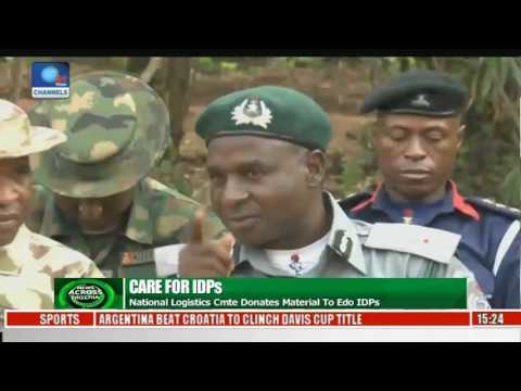 News Across Nigeria: Benin IDPs Get Boost