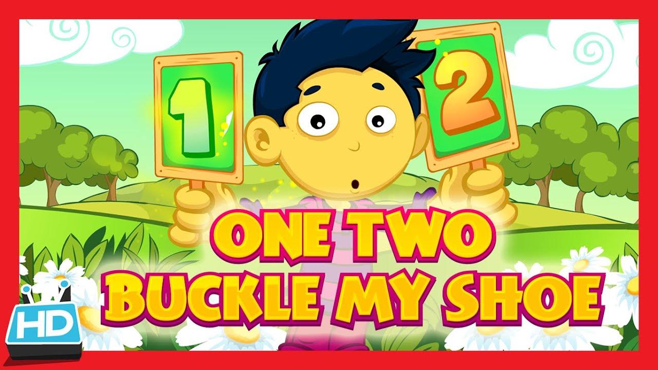 One Two Buckle My Shoe Nursery Rhyme