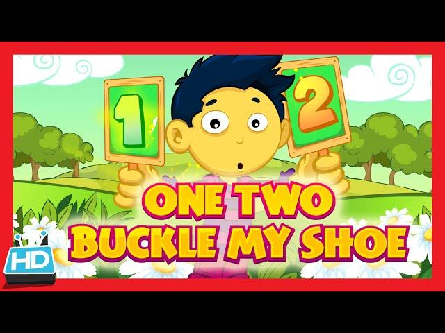 'ONE TWO BUCKLE MY SHOE' Nursery Rhyme