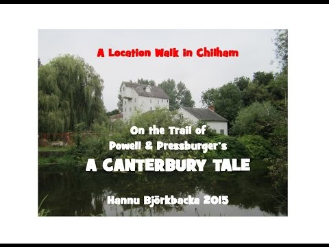 CHILHAM A Canterbury Tale Walk - Last Sunday in August 2015