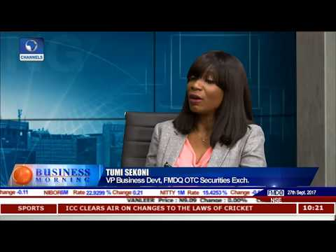 State Of Nigeria's Debt Capital Market Pt 1 | Business Morning |