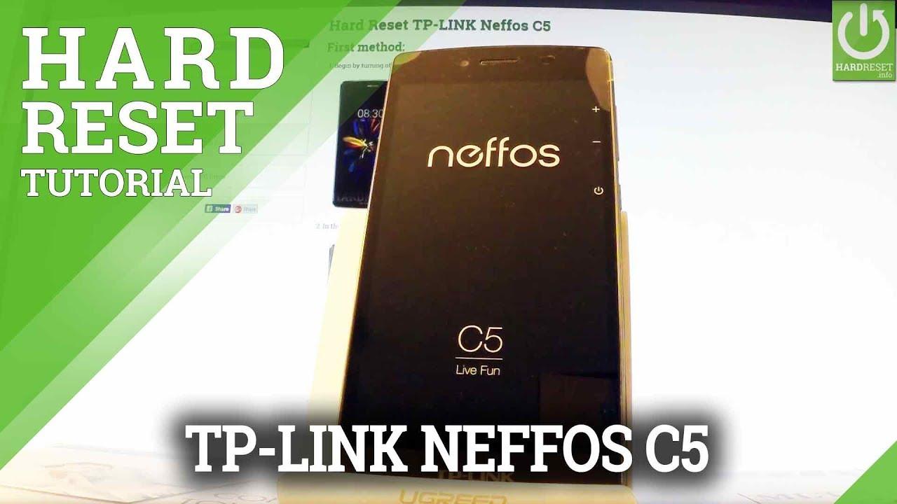 Hard Reset TP-LINK Neffos C5 - HardReset info