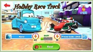 Disney Pixar Cars Fast as Lightning - Tokyo Mater vs Francesco
