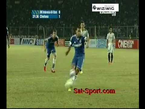 Eden Hazard penalty goal Indonesia All-Stars-Chelsea (25/07/2013)