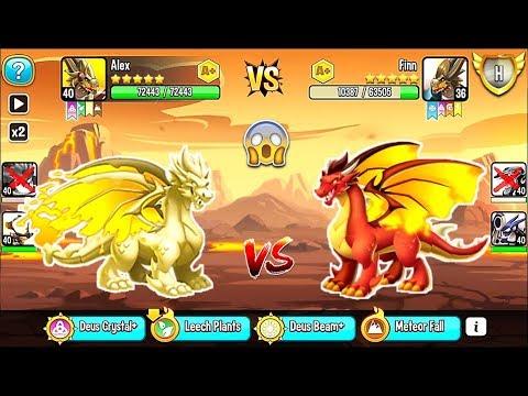 Dragon City: Wax Dragon | League Battle 400 [MAX LEVEL] 😱