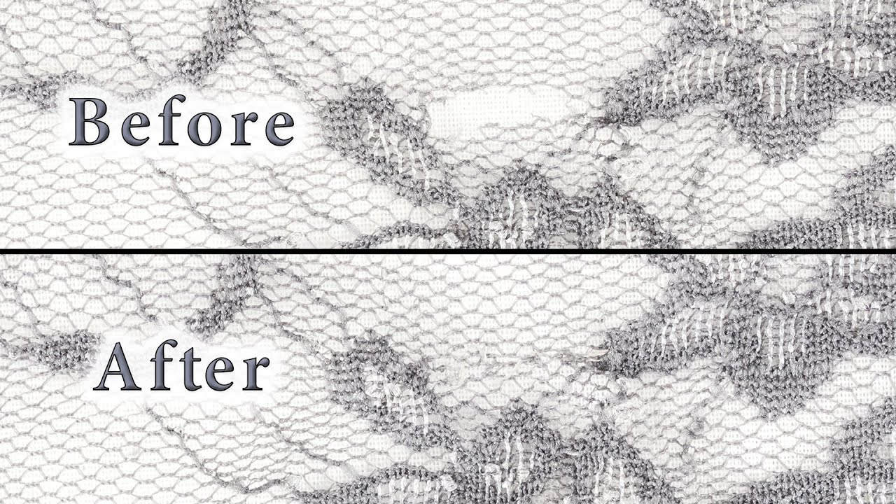 How To Repair Lace