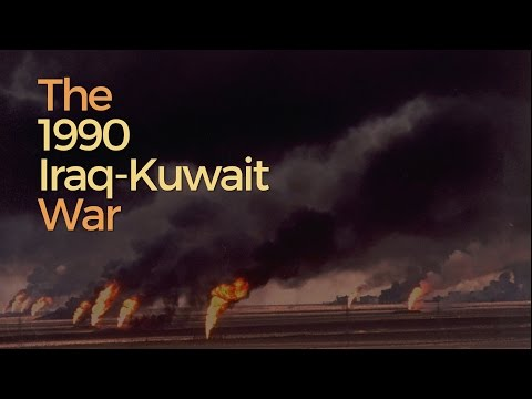 Social Studies - The Iraq-Kuwait War 1990