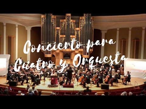 Concierto para Cuatro Puertorriqueño (Sonia Morales) interp Maribel Delgado/ Ohio Symphony Orchestra