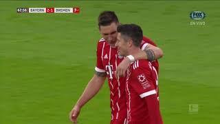 Video Gol Pertandingan FC Bayern Munchen vs Werder Bremen