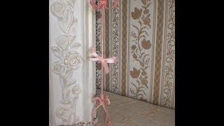 Миниатюрная вешалка для винтажного платья -Mini hanger for a vintage dress