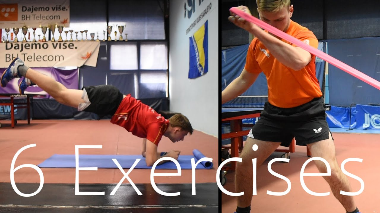 TOP 6 Exercises for Powerful Forehand | TABLE TENNIS