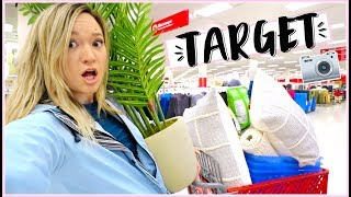 I'M BACK!!  + Target Shopping Adventures!