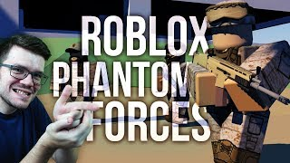 BATTLEFIELD w MINECRAFT?! - Roblox Phantom Project