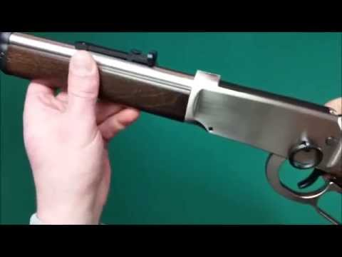 Walther lever action steel co² kaliber mm review youtube