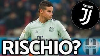 James vuole la Juve? Colpaccio o flop? ||| Mercato Avsim