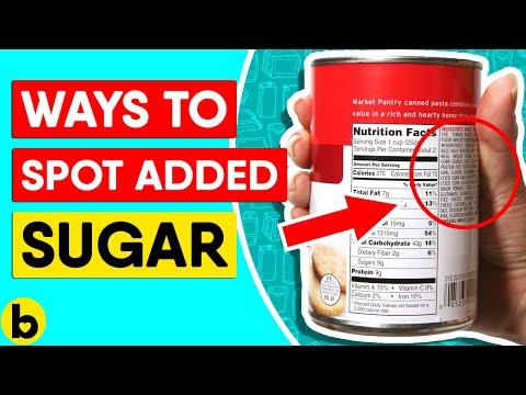 8 Ways To Spot Added Sugar