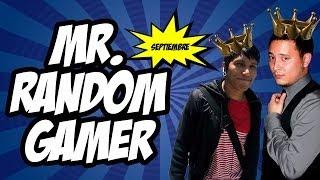 "MULTIPLAYER - ""MR. RANDOM GAMER""  Septiembre"
