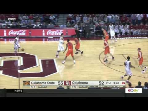 Oklahoma State at Oklahoma | 2016-17 Big 12 Men's Basketball Highlights