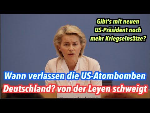 Wann verlassen die US-Atombomben Deutschland, Ursula von der Leyen?
