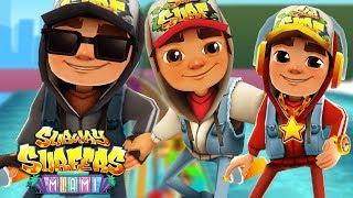 SUBWAY SURFERS Miami - Jake, Jake Dark, Jake Star Outfit in Miami - Subway Surfers World Tour 2019