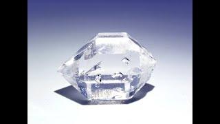 Enhydro Quartz var. Herkimer Diamond