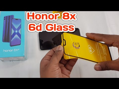 Honor 8X 6D glass How to apply 5D glass without Bubbles