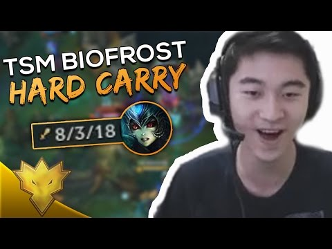When TSM Biofrost CARRIES WildTurtle as Nami! - League of Legends Funny Stream Moments & Highlights