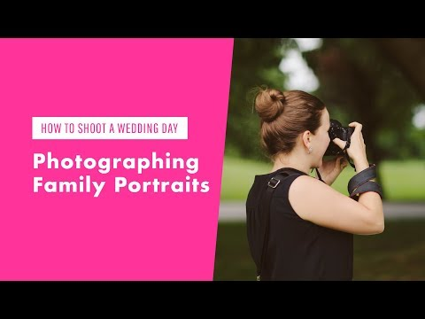 How To Photograph Family Portraits