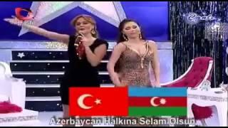 azeri kizi günel biz iki devlet bir milletiz
